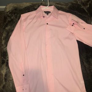 Pink Button Down